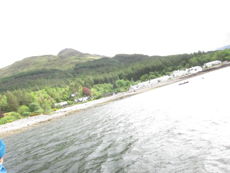 Arriving Inverie