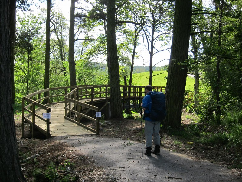 Trail from Potarch to Slewdrum Forrest