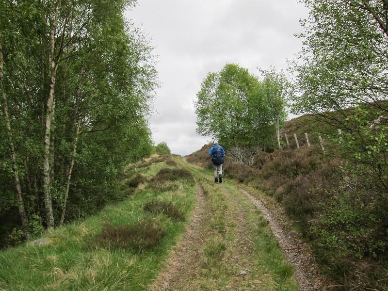 General Wade's road via. Dalchully Ho