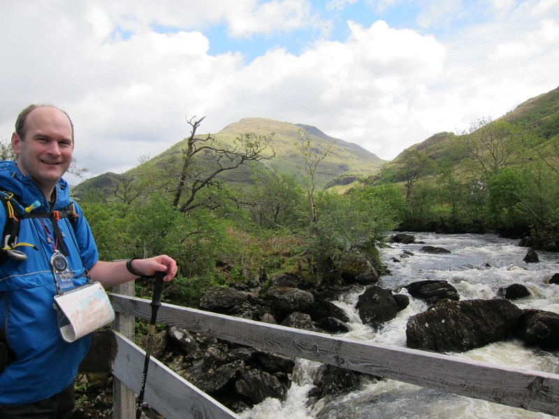 Crossing the Inverie River