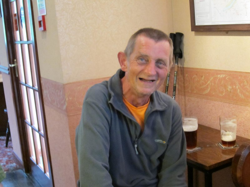 Mike in the Mondalaith Hotel Laggan