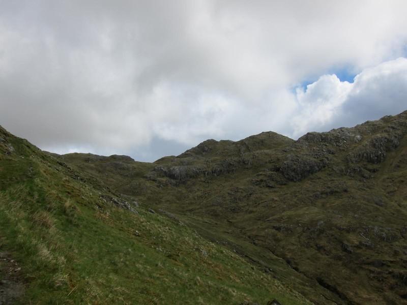 Path over Gleann Meadail