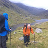 Crossing Finiskaig River (above Sourlies)