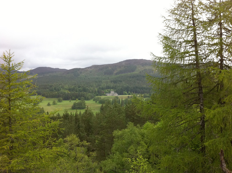 View from the Lion's Face above Braemar