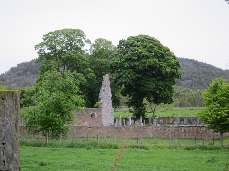 Old church from the Deeside Way (outside of Ballater)