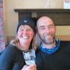 Graeme and Marion in the Mondalaith Hotel Laggan