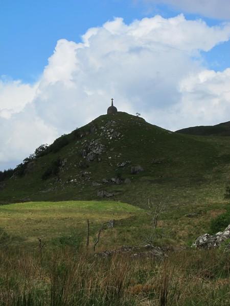 Monument near Torr a' Bhalbhain