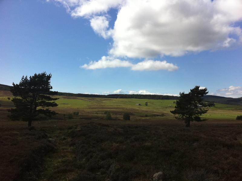 Views from Shillofad facing South