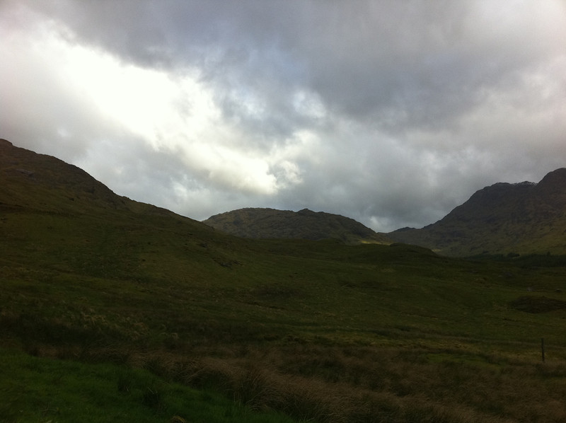 View from A'Chuil bothy