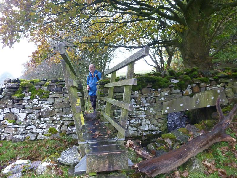 Slippery bridge.