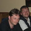 Challenger dinner party at Panmure Arms Hotel, Edzell (Alistair and Richard)