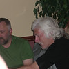 Challenger dinner party at Panmure Arms Hotel, Edzell (from left to right John and Gordon)