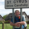 We're there!  St Cyrus