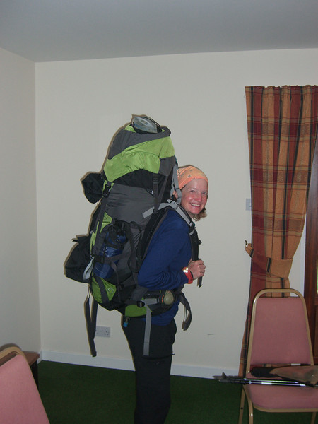 Lynn's tries out a new pack...