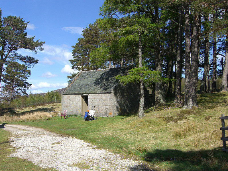 Gelder Shiel (communal bothy - queen's is on the left)