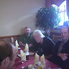 Challenger dinner party at Panmure Arms Hotel, Edzell (from left to right John, Gordon and Bill)