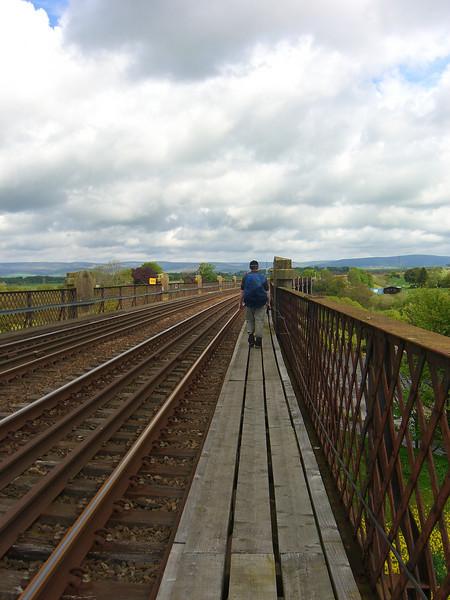 View from rail bridge near Maryhill