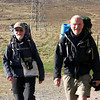 Fellow challengers at the Melgarve Bothy
