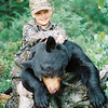 Derrick's 1st Bear at Age 11<br /> <br /> Maine 1996