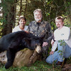 Chuck, Dad and His 1st Bear, Darren<br /> <br /> Oxbow, Maine 2003