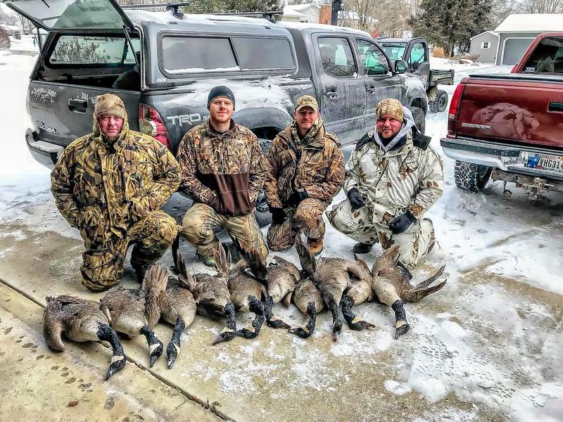 Indiana December Goose Hunt