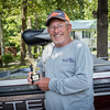 Big Fish Winner Donald Russ with Trophy.