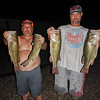 Shawn and Danny with winning night's catch that secured their championship