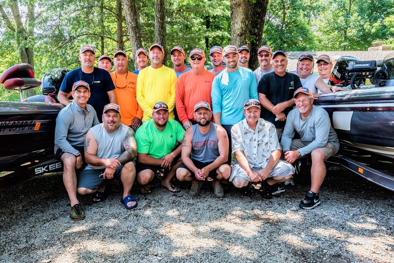 2017 Panther Creek Bass Challenge Anglers