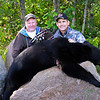 Jim with Chuck Williams' Manitoba Black Bear