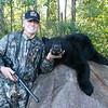 Fred Dittman and his Manitoba Black Bear