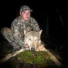 Jonathan Pitcher and his Manitoba Wolf