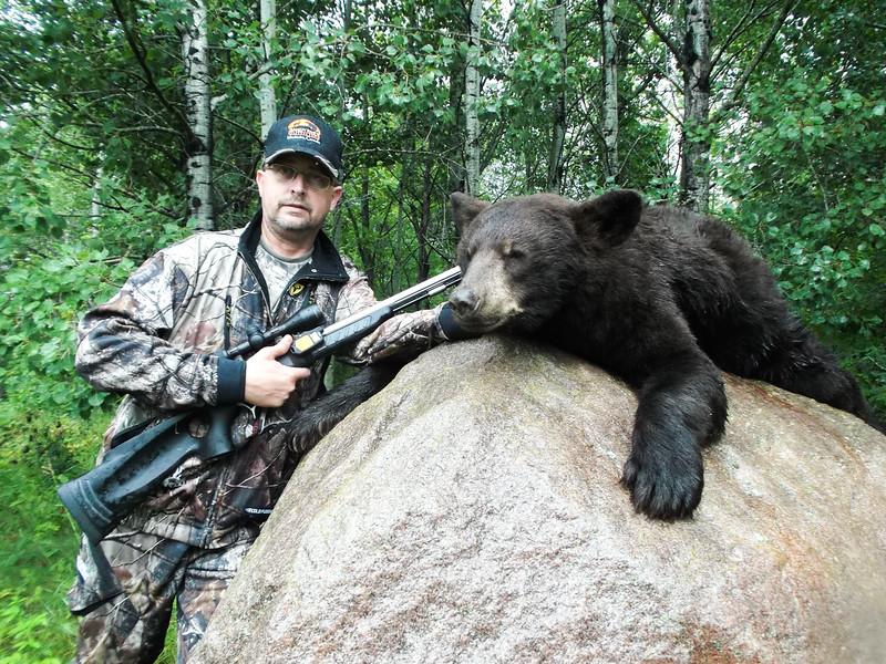Curt Middleton and his Chocolate Phase Manitoba Black Bear
