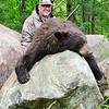 Dave Serreyn and his Manitoba Bear