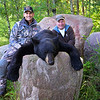 Chuck with his guide Jim...Manitoba 2014