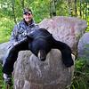 Chuck Williams with Manitoba Fall Black Bear