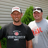 Team 4:  Jimmy and Clint...Winners of the Wolf Creek Bass Challenge 2011 with a record weight of 25 lbs. 10 ozs.