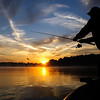 Sunrise Captured by Doug  on Rough River Lake<br /> <br /> Donnie Krish Casting