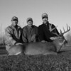 Malcolm, Brad and Dave with his 2004 Harvest
