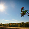 A motocross rider at Finger Lakes State Park, north of Columbia.  Photo by Kyle Spradley | www.kspradleyphoto.com