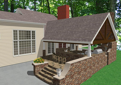 Preliminary Design - Outdoor Living Area