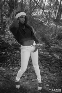 Model: Breshayla Rim Location: Arabia Mountain (Lithonia, GA) Date: January 5, 2019