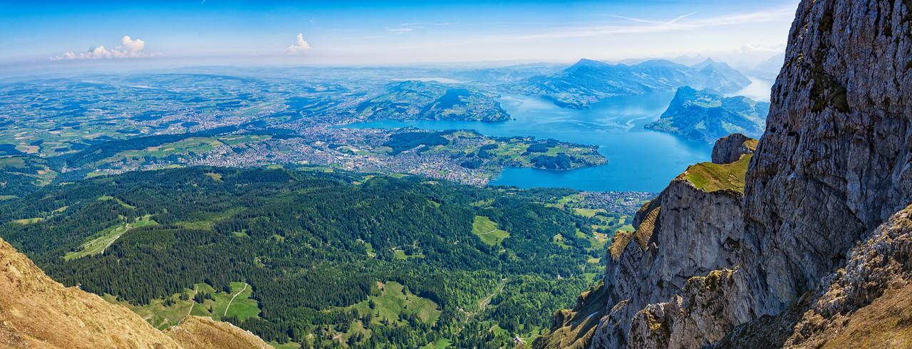 Lucerne from Mount Pilatus