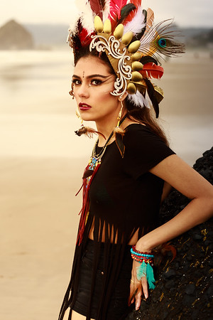 Image of Incan ancestor inspired fashion