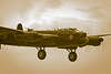 Lancaster On Final Approach