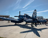 F4 U Corsair On The Flight Line