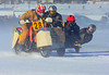 Wanna bet how cold the wind chill was when I shot this photo of these sidecar racers doing their thing on a balmy -25 Celsius afternoon!