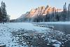 Sunrise - Castle Mountain - 29 Celsius