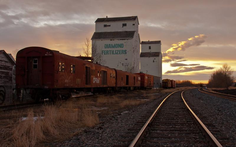 Sunrise - The Railway Siding