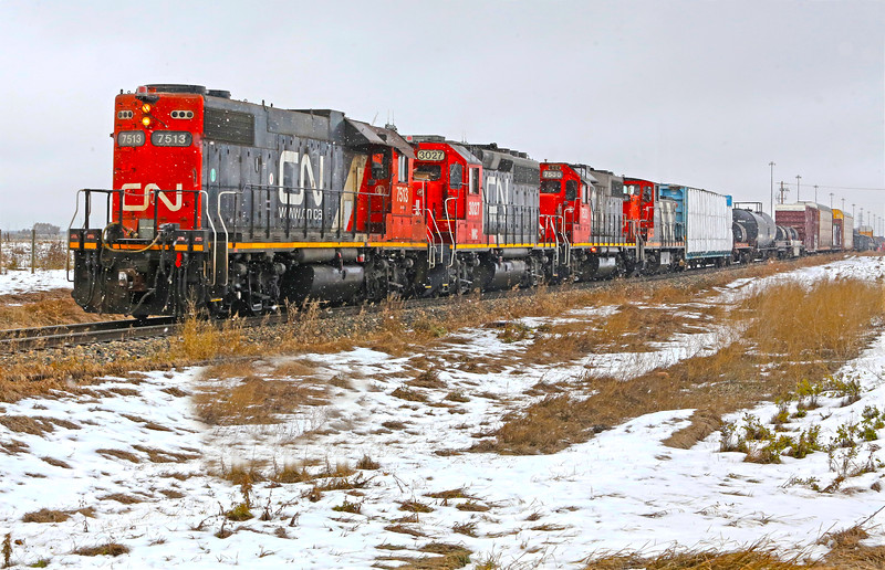 Snow Train to Conrich
