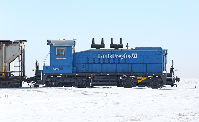 The Blue Locomotive